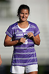 11 September 2016: High Point's Paige Lloyd. The Duke University Blue Devils hosted the High Point University Panthers at Koskinen Stadium in Durham, North Carolina in a 2016 NCAA Division I Women's Soccer match. Duke won the match 4-1.