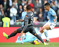 Football, Serie A: S.S. Lazio - Udinese Olympic stadium, Rome, December 1, 2019. <br /> Lazio's Carlos Joaquin Correa (r) in action with Udinese's William Troost-Ekong (l) during the Italian Serie A football match between S.S. Lazio and Udinese at Rome's Olympic stadium, Rome on December 1, 2019.<br /> UPDATE IMAGES PRESS/Isabella Bonotto