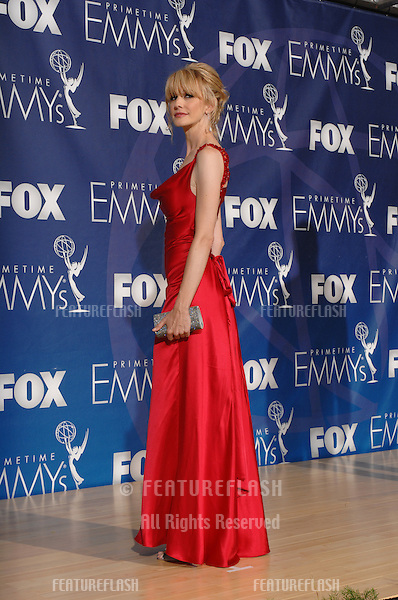 Kathryn Morris at the 59th Primetime Emmy Awards at the Shrine Auditorium..September 17, 2007 Los Angeles, CA.Picture: Paul Smith / Featureflash