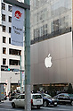 March 16, 2012, Tokyo, Japan - Regardless of the cold 450 people waited for hours to buy the new iPad, some spent the night outside the Apple store to get one. Japan was one of the first countries where Apple fans could get their hands on the new iPad.