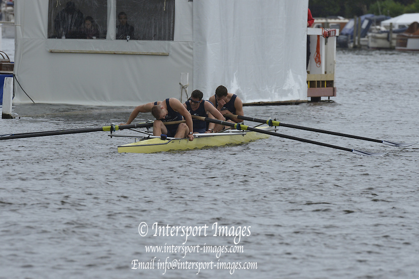 Henley, GREAT BRITAIN.  Stewards' Challenge Cup .  Oxford University,  Alex WOODS at No.3 during their Friday heat.  2012 Henley Royal Regatta. ..Friday  18:47:08  29/06/2012. [Mandatory Credit, Peter Spurrier/Intersport-images]...Rowing Courses, Henley Reach, Henley, ENGLAND . HRR.