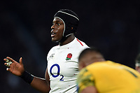 Maro Itoje of England. Quilter International match between England and Australia on November 24, 2018 at Twickenham Stadium in London, England. Photo by: Patrick Khachfe / Onside Images
