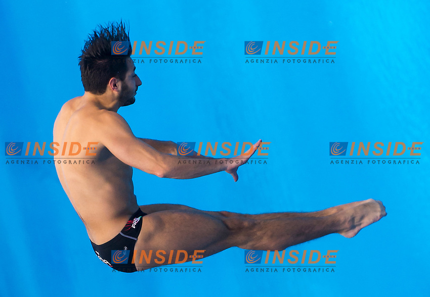 TOCCI Giovanni ITA<br /> London, Queen Elizabeth II Olympic Park Pool <br /> LEN 2016 European Aquatics Elite Championships <br /> Diving<br /> Men's 3m springboard preliminary <br /> Day 04 12-05-2016<br /> Photo Giorgio Perottino/Deepbluemedia/Insidefoto