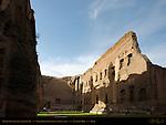 Baths of Caracalla Natatorium 50 meter Swimming Pool Aventine Hill Rome