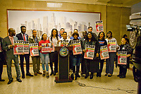 Aldermanic Candidates Support CPAC Press Conference Chicago Illinois 1-9-19