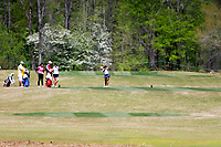 Hanna Alberto (USA) during the second round of the Augusta National Womans Amateur 2019, Champions Retreat, Augusta, Georgia, USA. 04/04/2019.<br /> Picture Fran Caffrey / Golffile.ie<br /> <br /> All photo usage must carry mandatory copyright credit (&copy; Golffile | Fran Caffrey)
