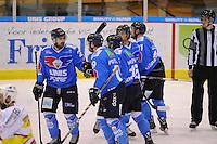 IJSHOCKEY: HEERENVEEN; 28-02-2015, IJstadion Thialf, UNIS Flyers - Laco Eaters Limburg, uitslag 6-2, ©foto Martin de Jong