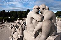 Norwegen, Oslo, Skulpturenpark Vigelandsparken