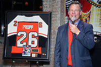 PHILADELPHIA, PA - NOVEMBER 25 : Brian Propp pictured at the 1st Sports Wall of Fame induction @ Revolutions in Philadelphia, Pa on November 25, 2016  photo credit Star Shooter/MediaPunch