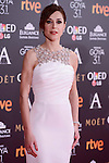 Ruth Diaz attends to the Red Carpet of the Goya Awards 2017 at Madrid Marriott Auditorium Hotel in Madrid, Spain. February 04, 2017. (ALTERPHOTOS/BorjaB.Hojas)
