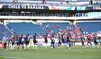 Philadelphia, PA - Tuesday June 14, 2016: Panama warms up prior to a Copa America Centenario Group D match between Chile (CHI) and Panama (PAN) at Lincoln Financial Field.