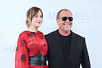 (L-R) Dakota Johnson, Michael Kors, <br /> Nov 20, 2015 : <br /> Actress Dakota Johnson and Designer Michael Kors <br /> attend the Michael Kors store event in Tokyo, Japan on November 20, 2015.<br /> American luxury brand opened its largest flagship store in Tokyo's renowned Ginza district. (Photo by Yohei Osada/AFLO)