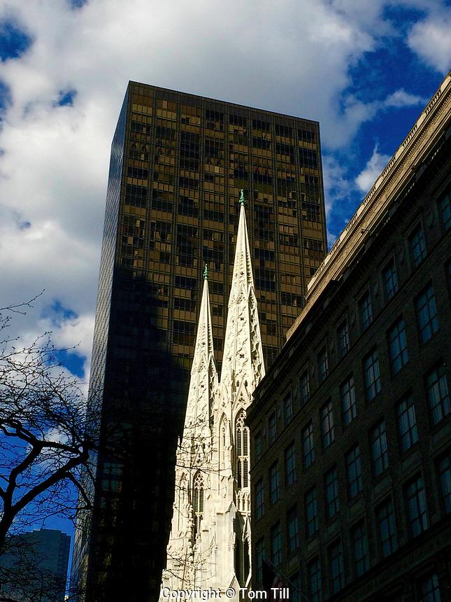 St. Patrick's Cathedral,  New York City, New York, 5th Avenue, Manhattan
