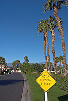Palm Desert CA El Paseo Drive, picture-postcard floral, Art Sculptures, statue-filled