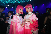 Ami Suzuki and Aya Suzuki at the After Party<br /> Dior Homme show, After Party, Pre Fall 2019, Tokyo, Japan - 30 Nov 2018<br /> CAP/SAT<br /> &copy;Satomi Kokubun/Capital Pictures