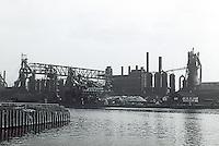 Cleveland:  Factories, River.
