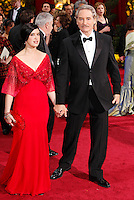 Phoebe Cates and husband Kevin Kline arrives at the 81st Annual Academy Awards held at the Kodak Theatre in Hollywood, Los Angeles, California on 22 February 2009