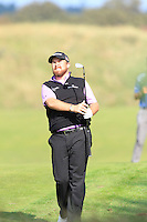 Shane Lowry (IRL) on the 9th during Round 2 of the KLM Open at Kennemer Golf &amp; Country Club on Friday 12th September 2014.<br /> Picture:  Thos Caffrey / www.golffile.ie