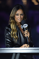 """BROOKLYN, NY - DECEMBER 22:  Sports commentator Kate Abdo attends the Fox Sports and Premier Boxing Champions  December 22 """"PBC on Fox"""" Fight Night at the Barclays Center on December 22, 2018 in Brooklyn, New York. (Photo by Anthony Behar/Fox Sports/PictureGroup)"""