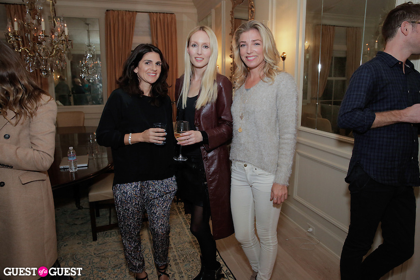 Rachel Marlowe and Cassie Steer attend the CAP Beauty + Jenni Kayne Dinner on Nov. 5, 2015 (Photo by Inae Bloom/Guest of a Guest)