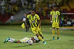 Atlético Bucaramanga venció 4-2 (4-3 en el global) a Atlético Bucaramanga. Ronda de clasificación Copa Águila 2018. Fecha 6.