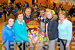Ellen O'Connell, Mary Hayes, Tom Griffin Brendan O'Brien, Sorcha Daly and Kathleen Houlihan,  pictured at St Johns bazaar, held in the KDYS on Saturday evening.