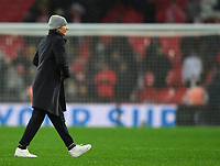 9th November 2019; Wembley Stadium, London, England; International Womens Football Friendly, England women versus Germany women; Martina Voss-Tecklenburg Head Coach for Germany after the final whistle - Editorial Use