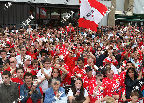 2008-08-03 / Voetbal / Fandag Antwerp..Foto: Maarten Straetemans (SMB)