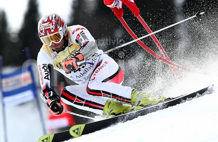 Ski Alpin;  Saison 2006/2007   05.01.2007 42. Weltcup Riesenslalom  Herren Thomas Mermillillod  Blondin  (FRA)
