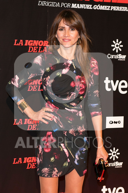 "Goya Toledo attends ""La Ignorancia de la Sangre"" Premiere at Capitol Cinema in Madrid, Spain. November 13, 2014. (ALTERPHOTOS/Carlos Dafonte)"