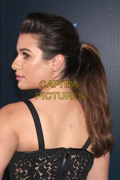 WEST HOLLYWOOD, CA - March 18: Lea Michele at the GLEE 100th Episode Party, Chateau Marmont, West Hollywood,  March 18, 2014. <br /> CAP/MPI/JO<br /> &copy;Janice Ogata/MediaPunch/Capital Pictures