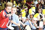 Jedward visit Presentation Primary School, Ballymakenny Road 2