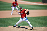 Erie SeaWolves pitcher Tim Adleman (40) during an Eastern League game against the Harrisburg Senators on June 30, 2019 at UPMC Park in Erie, Pennsylvania.  Erie defeated Harrisburg 4-2.  (Mike Janes/Four Seam Images)