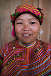 Ethnic Hmong tribe woman, Northern Vietnam.