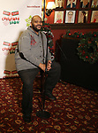 """Ruben Studdard attend the Broadway Preview Photo Call for """"Ruben & Clay's First Annual Christmas Carol Family Fun Pageant"""" at Sardi's on November 15, 2018 in New York City."""