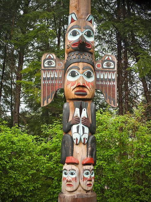 Totem poles, ketchikan