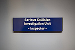 © Joel Goodman - 07973 332324 . 16 August 2013 . Manchester , UK . Serious Collision Investigation Unit Inspector 's office . Drive along with Inspector Matt Bailey-Smith ( 16366 ) of Greater Manchester Police 's Serious Collision Unit . Photo credit : Joel Goodman