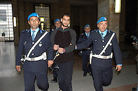 "NOV 6  2006 Milan (Italy): Rajeh Yahia, considered the ""disciple"" of Rabei, has been condemned to five years..6 NOV 2006 Milano: Rajeh Yahia, considerato il discepolo di Osman Rabei, condannato a 5 anni.   ."