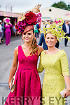 Tasha O'Connor, Templeglantine and Stacey O'Leary, Kilcummin pictured at Ladies day at Galway Races on Thursday.
