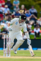 BJ Watling of the Black Caps during Day 2 of the Second International Cricket Test match, New Zealand V England, Hagley Oval, Christchurch, New Zealand, 31th March 2018.Copyright photo: John Davidson / www.photosport.nz