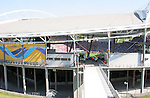 14 June 2006: A view into the stadium from the lip of the old stadium that still surrounds the new one. Spain played Ukraine at Zentralstadion in Leipzig, Germany in match 15, a Group H first round game, of the 2006 FIFA World Cup.