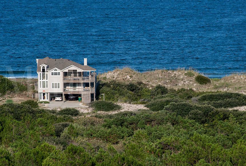 Beach house, Outer Banks, North Carolina, USA