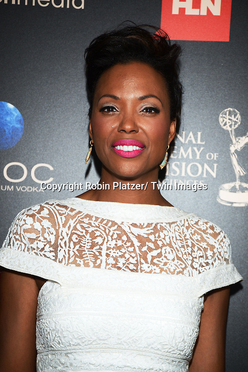 Aisha Tyler attends The 40th Annual Daytime Emmy Awards on<br />  June 16, 2013 at the Beverly Hilton Hotel in Beverly Hills, California.