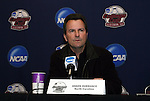 05 December 2009: Head coach Anson Dorrance. The University of North Carolina Tar Heels held a press conference at the Aggie Soccer Complex in College Station, Texas on the day before playing the Stanford University Cardinal in the NCAA Division I Women's College Cup championship game.