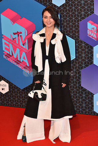 Bibi Zhou<br /> 2016 MTV EMAs in Ahoy Arena, Rotterdam, The Netherlands on November 06, 2016.<br /> CAP/PL<br /> &copy;Phil Loftus/Capital Pictures /MediaPunch ***NORTH AND SOUTH AMERICAS ONLY***
