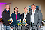 GAA legends Mike Hassett, Johnny Culloty, Sean Kelly and Dr Con Murphy at the launch of Tomas O'Sé  autobiography The White Heat in the Brehon Hotel on Sunday night