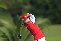 Jin Young Ko (KOR) in action on the 2nd during Round 3 of the HSBC Womens Champions 2018 at Sentosa Golf Club on the Saturday 3rd March 2018.<br /> Picture:  Thos Caffrey / www.golffile.ie<br /> <br /> All photo usage must carry mandatory copyright credit (&copy; Golffile   Thos Caffrey)