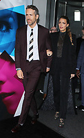 September 10, 2018 Ryan Reynolds. Blake Lively attend  LionsGate presents the World Premiere of A Simple Favor  at the Museum of Modern Art in New York September 10,  <br /> CAP/MPI/RW<br /> &copy;RW/MPI/Capital Pictures