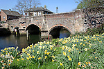 Bishop Bridge, River Wensum, Norwich, England