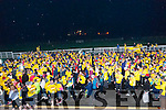 Darkness into Light - Listowel: Part of the huge crowd at the start of the Darkness into Light walk at Listowel race course on Saturday morning last.